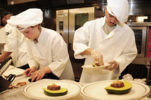 lavorare con il cibo chef