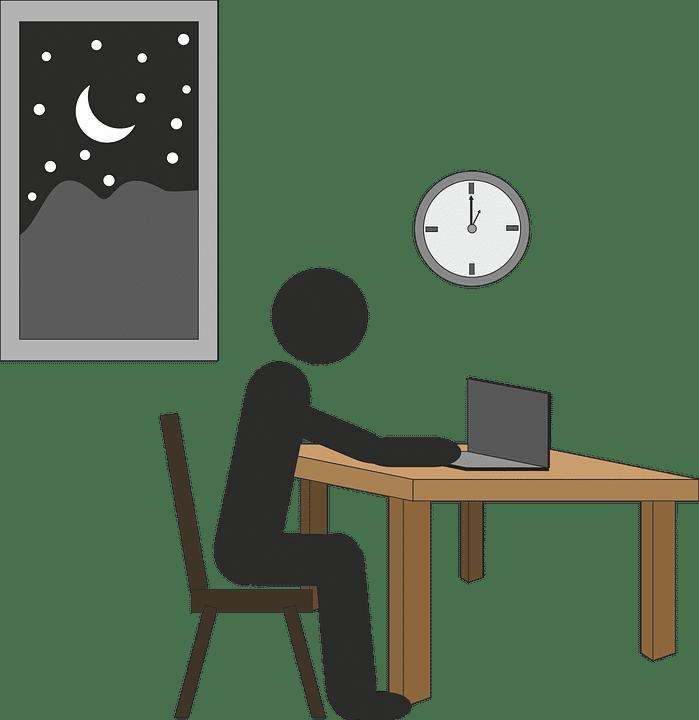 lavorare di notte